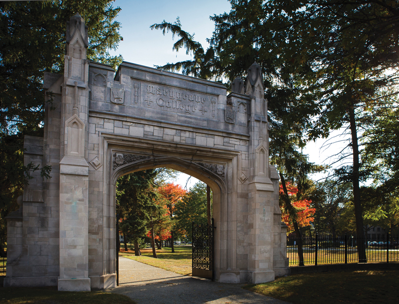 Marygrove College gate