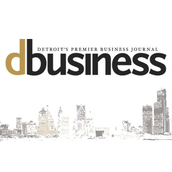 Detroit's Premier Business Journal DBusiness Magazine Logo