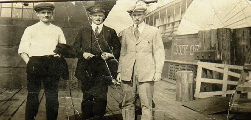 Ed Clark, Michael Lyons, and Francis Lyons